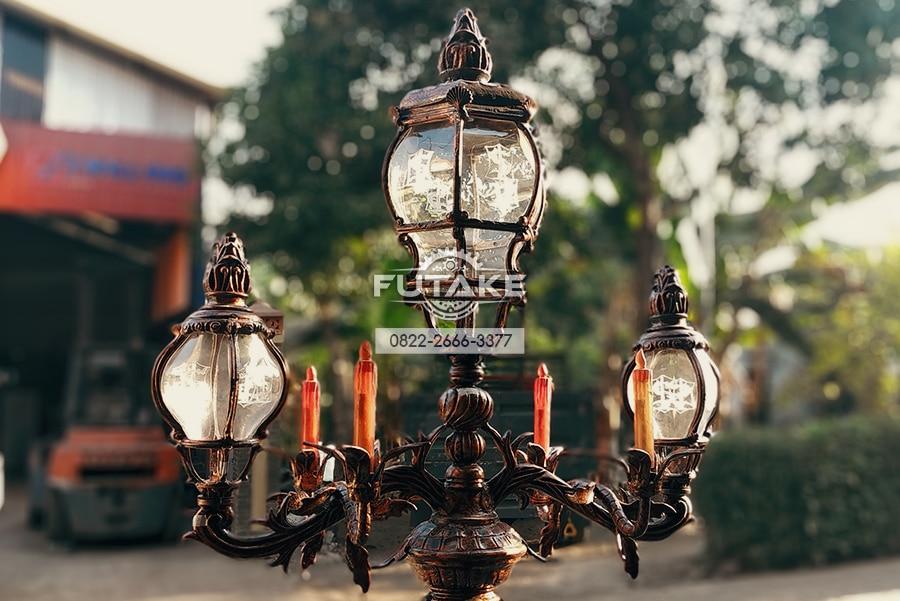 Tips Memilih Tiang Lampu Taman Kota Pedestrian Futake Lampu